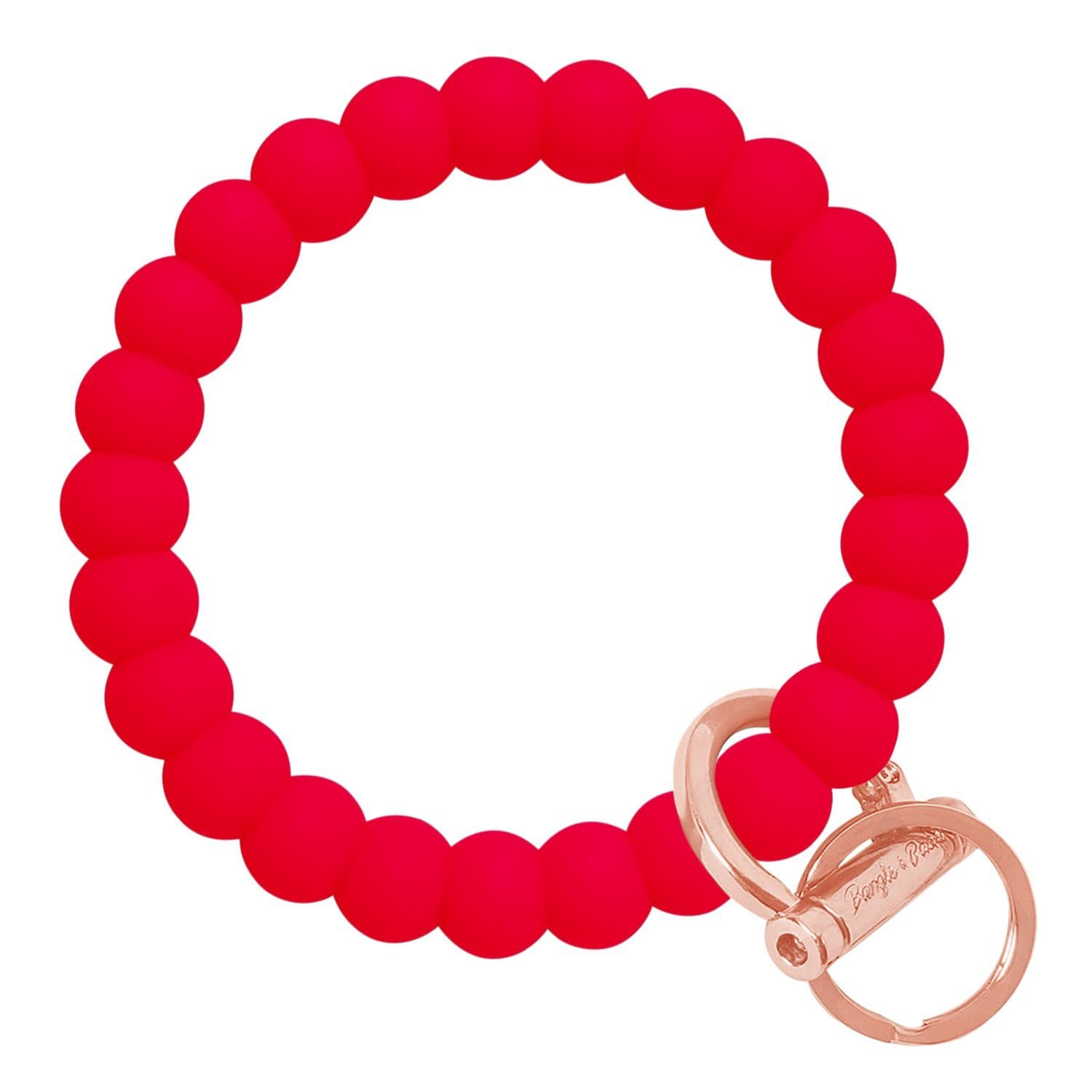 Bubble Inspired Bangle & Babe Bracelet Key Ring Bubble – Red Rose Gold