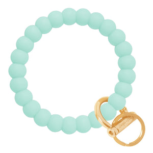 Bubble Inspired Bangle & Babe Bracelet Key Ring Bubble – Mint Gold