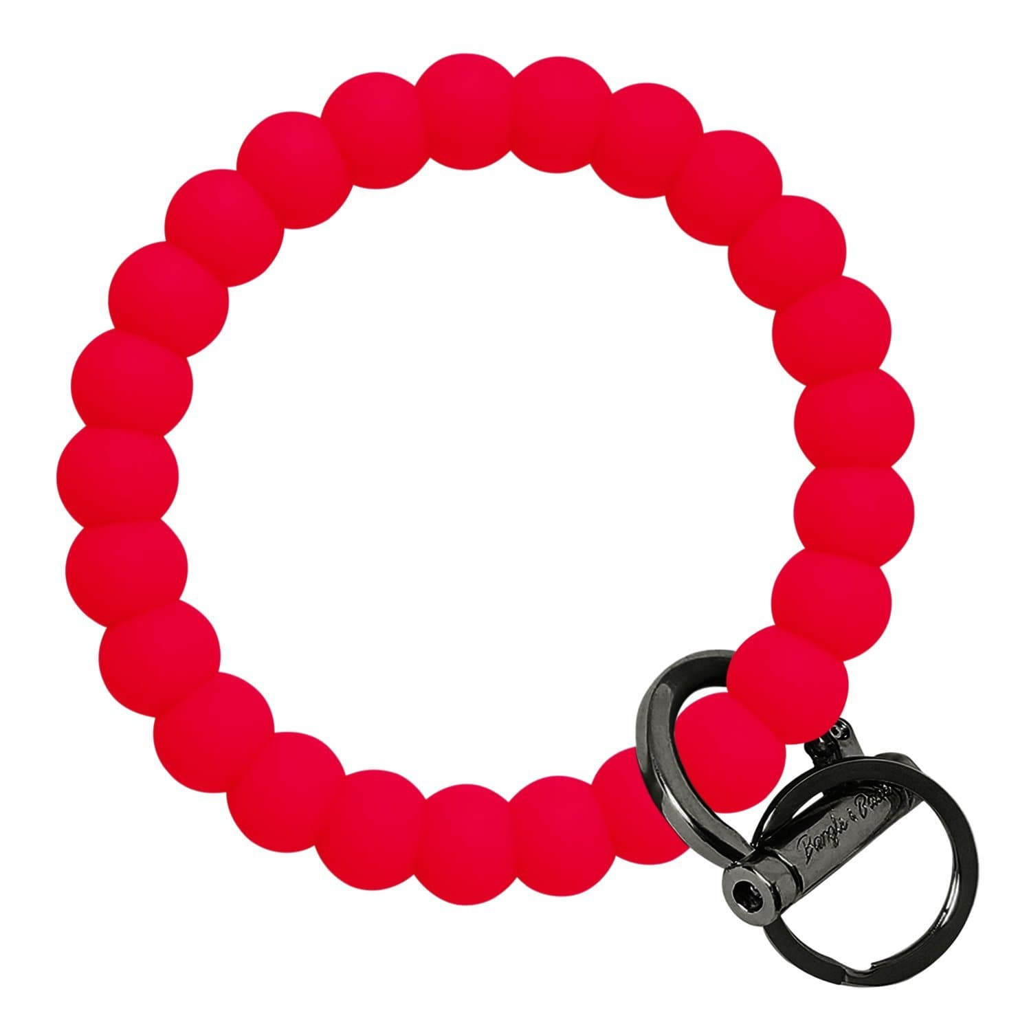 Bubble Inspired Bangle & Babe Bracelet Key Ring Bubble – Red Black