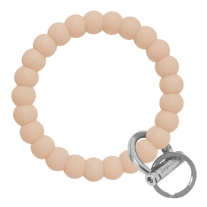Bubble Inspired Bangle & Babe Bracelet Key Ring Bubble - Oatmeal Silver