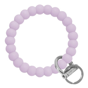 Bubble Inspired Bangle & Babe Bracelet Key Ring Bubble - Pastel Lilac Silver