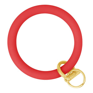 Original Bangle & Babe Bracelet Key Ring Red Gold