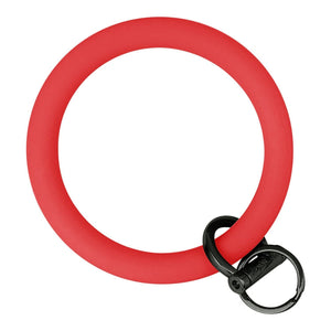 Original Bangle & Babe Bracelet Key Ring Red Black