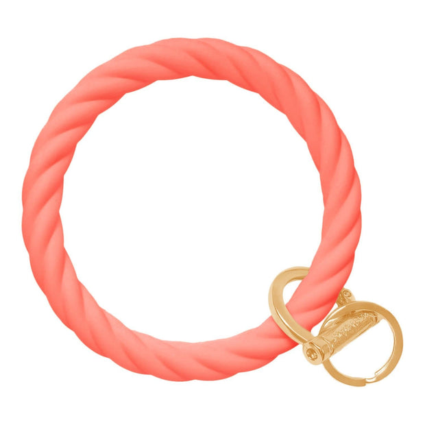 Twisted Bangle & Babe Bracelet Key Ring 1
