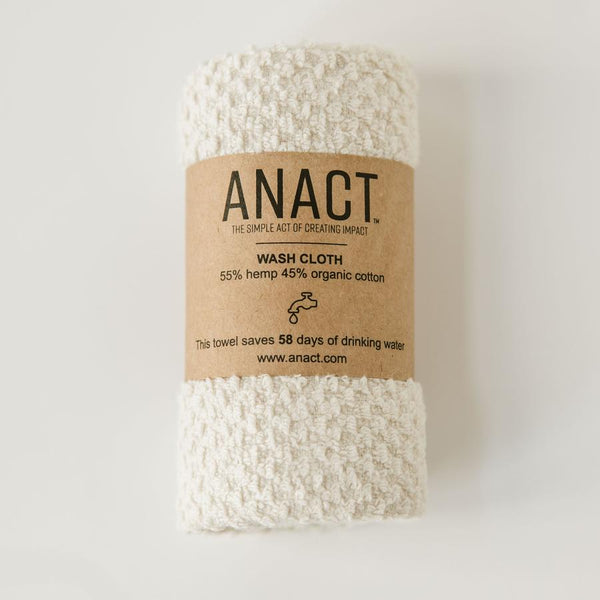 Organic Hemp Washcloth