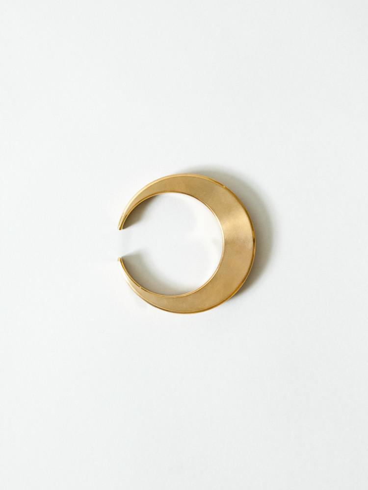 Brass Crescent Bottle Opener