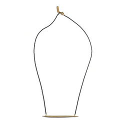 Petite Quill Lateral Necklace