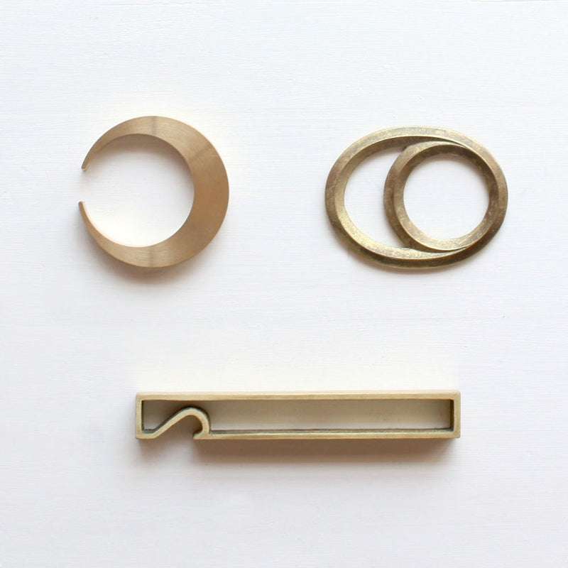 Brass Frame Bottle Opener