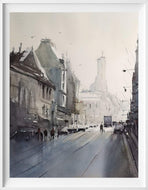 Grey Day (reserved) - Loose watercolor works