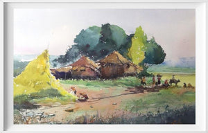 Home (adopted from f.amorsolo's rural piece)