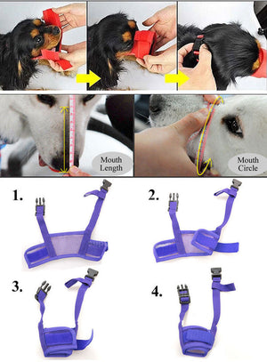 Adjustable Anti-Bite Muzzle Mask