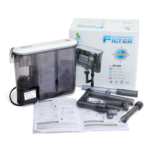 XP-09 Ultra Silence Fish Tank Filter External Aquarium Filter Water Pump Remove Oil