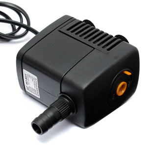 Aquarium Fish Tank Adjustable Submersible Pump 210GPH 800L/h 18W  4 Sucker
