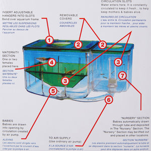 Aquarium  Nursery automatic Fish Breeding system