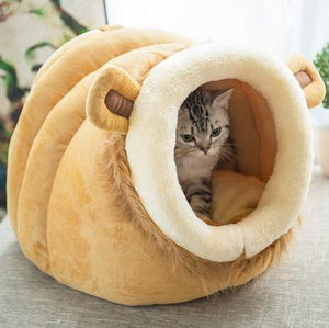 Soft bed for cats