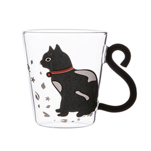 Cat Glass Mug