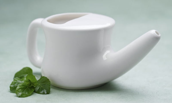 vapor distilled water is good for use in neti pots