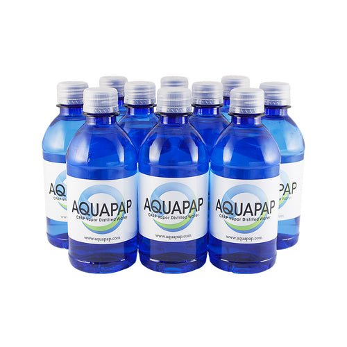 CPAP Vapor-Distilled Water 10-pack (12 oz.)