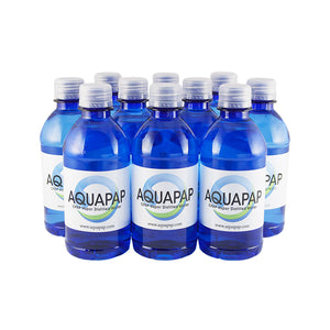 AQUAPAP CPAP Vapor-Distilled Water 10-pack (12 oz.) FREE SHIPPING
