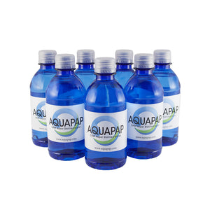 AQUAPAP CPAP Vapor-Distilled Water 7-Pack (12 oz.) FREE SHIPPING
