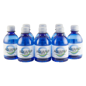 AQUAPAP CPAP Vapor Distilled Water 8-Pack (8 oz.) FREE SHIPPING