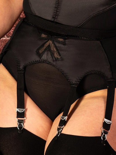 Bow Garter Belt L6106 What Katie Did Bow US 4