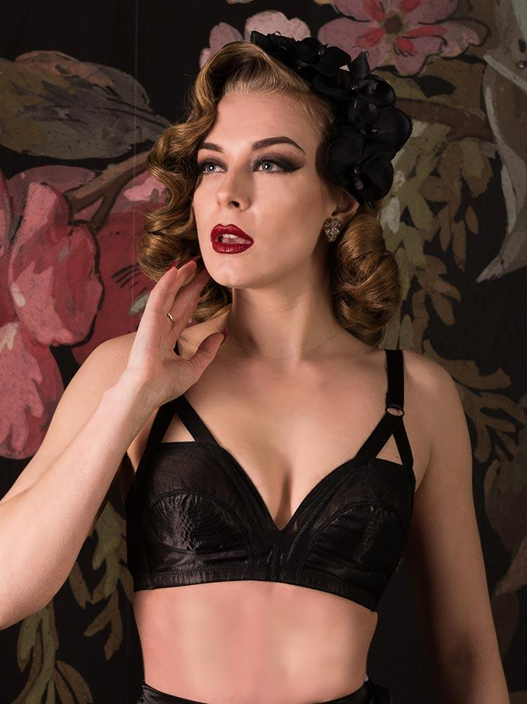 Cathedral Bra L6081 What Katie Did Retro 32C