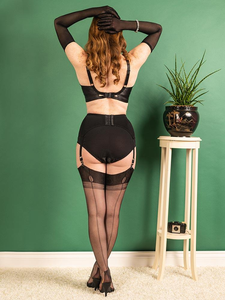 Fully Fashioned Stockings | Havana Fully Fashioned Stockings