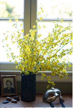 Golden Yellow 10 Stem Oncidium Only (Vase Not Included)