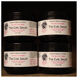 BUNDLE - The Curl Smiler Growth & Repair Curl Butter Four (coconut oil is an ingredient)