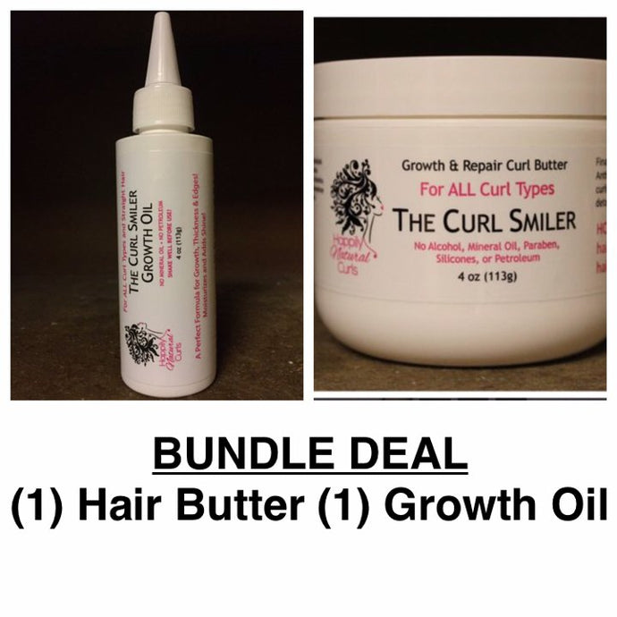 BUNDLE - (1) Hair Butter + (1) Growth Oil (coconut oil is an ingredient)
