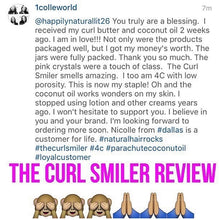 Load image into Gallery viewer, The Curl Smiler Growth Oil w/ Coconut Oil