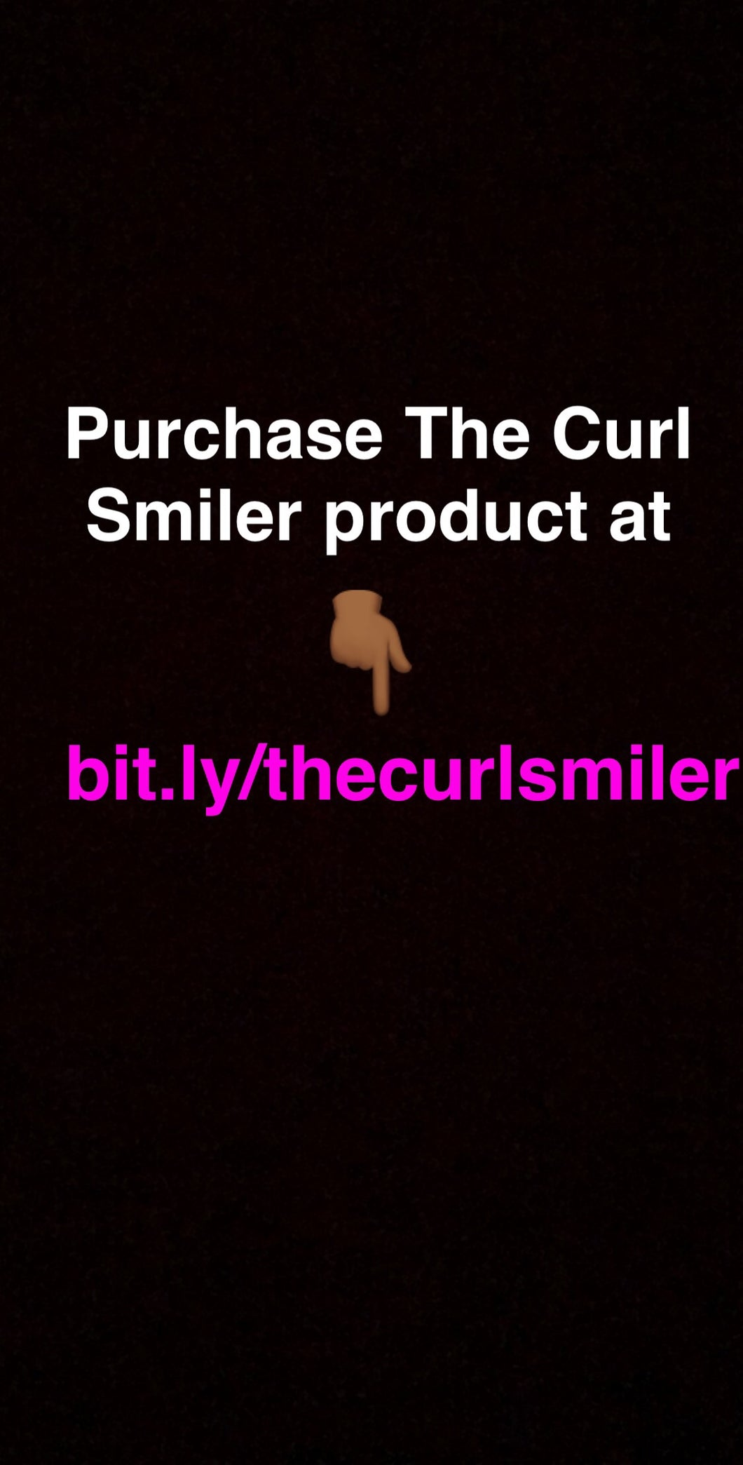 The Curl Smiler