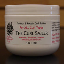 Load image into Gallery viewer, The Curl Smiler Growth & Repair Curl Butter