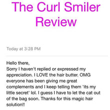 Load image into Gallery viewer, NO COCONUT OIL - The Curl Smiler Growth Oil