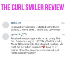 Load image into Gallery viewer, NO COCONUT OIL - The Curl Smiler Growth & Repair Curl Butter