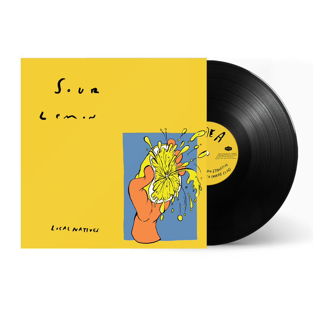 "SOUR LEMON 10"" EP"