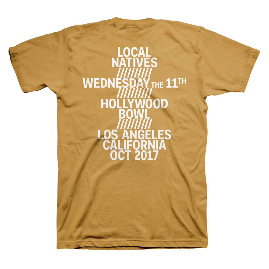 HOLLYWOOD BOWL TEE - Local Natives