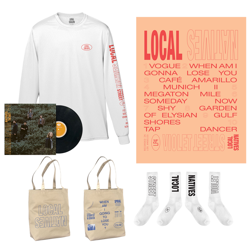 VIOLET STREET LP PREMIUM BUNDLE - Local Natives