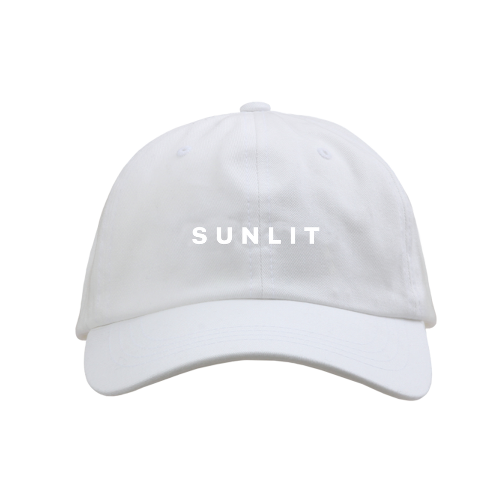 SUNLIT WHITE DAD HAT - Local Natives