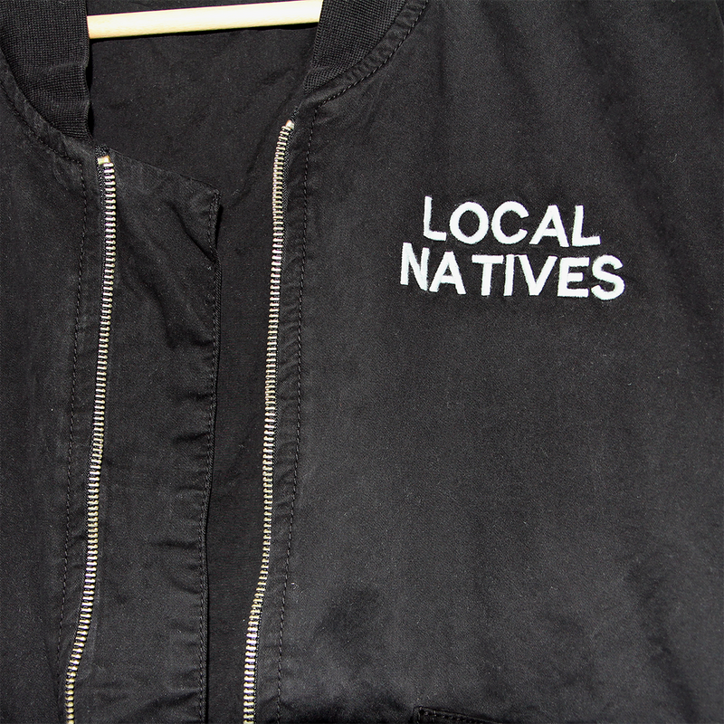 BOMBER JACKET - Local Natives