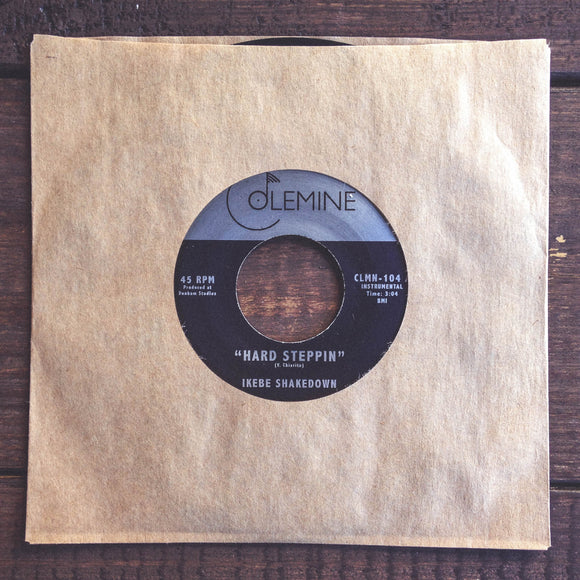 HARD STEPPIN'<br>7-inch single<br>2009