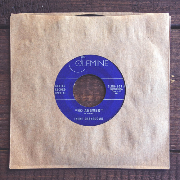 NO ANSWER<br>7-inch single<br>2010