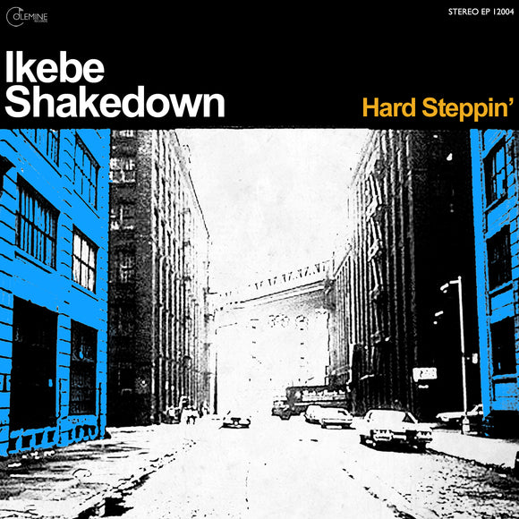 HARD STEPPIN'<br>LP / CD / Digital<br>2009