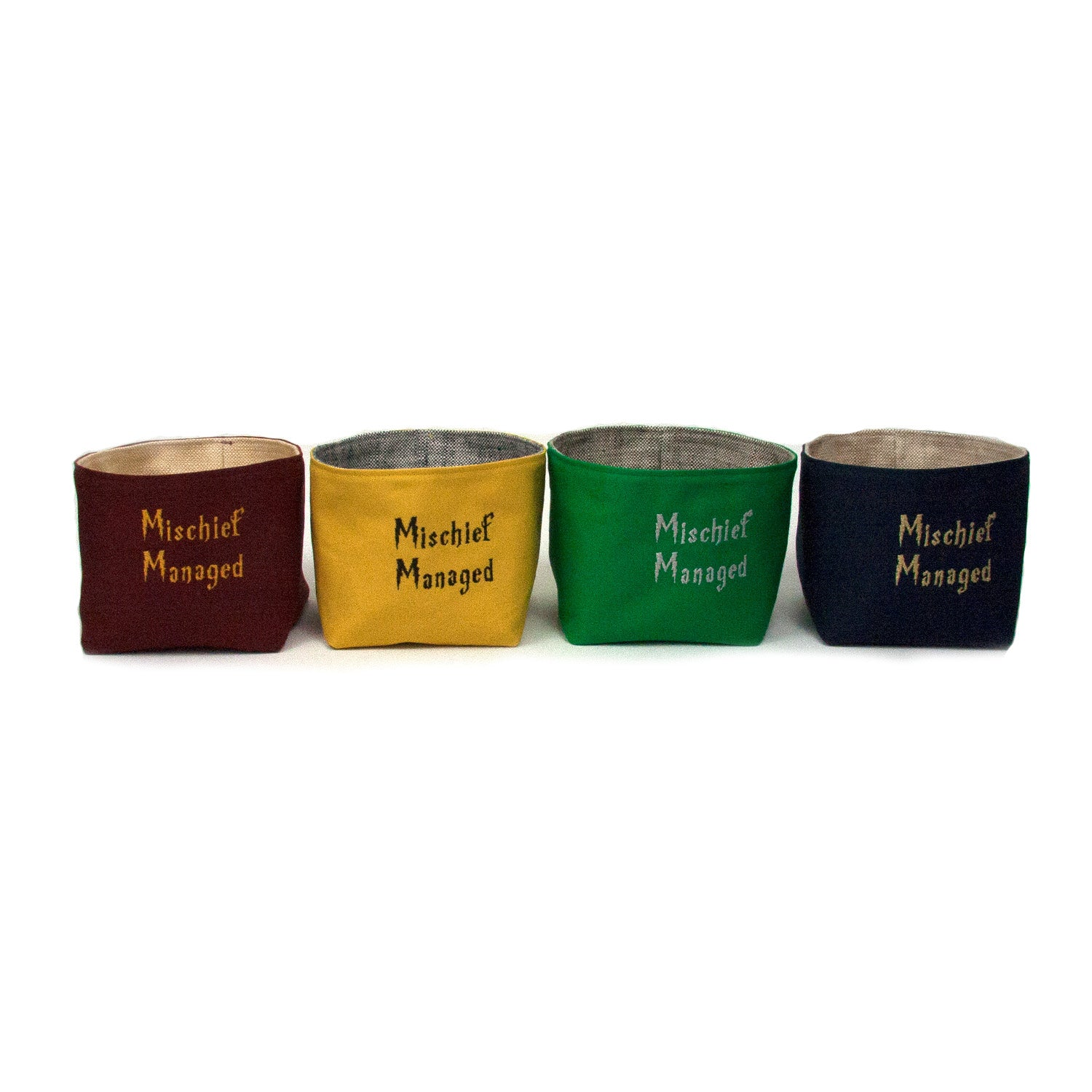 Mischief Managed Basket - Gryffindor