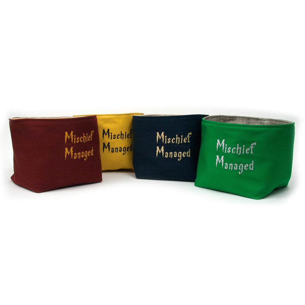Mischief Managed Basket Set - Hogwarts House