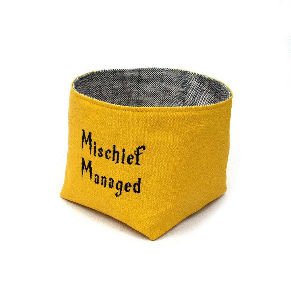 Mischief Managed Basket - Hufflepuff