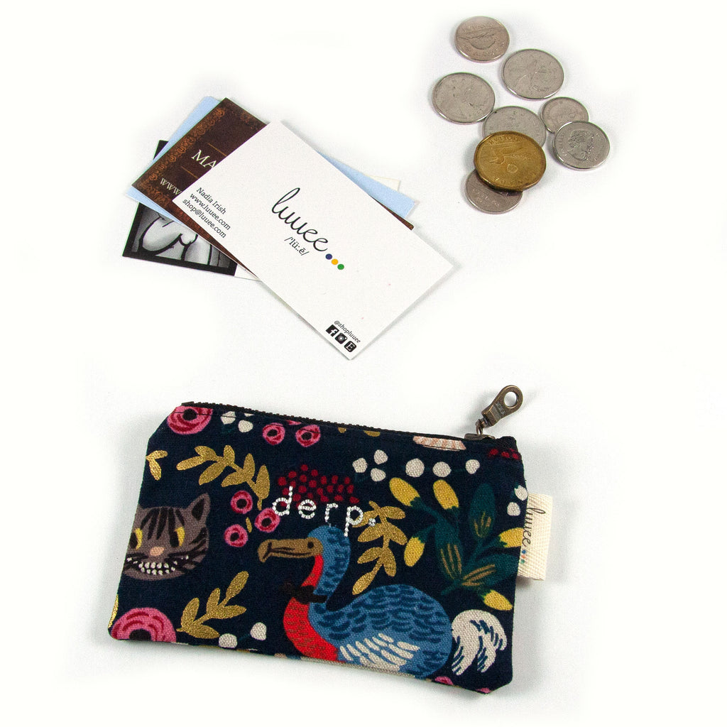 Alice in Wonderland Dodo Coin Purse - Derp