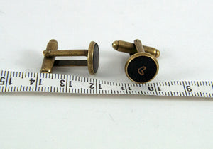 Less Than Three Cuff Links - Small