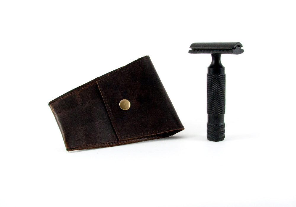 Safety Razor Case - Coffee